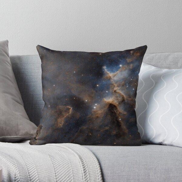 heart nebula Throw Pillow