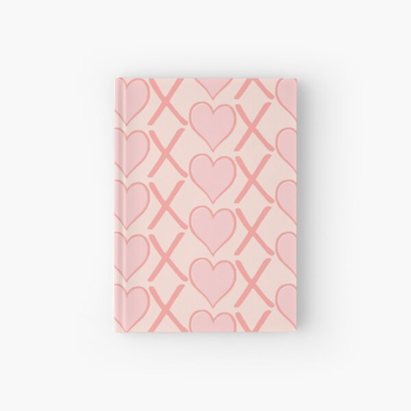 Blush Pink Hugs & Kisses Hardcover Journal