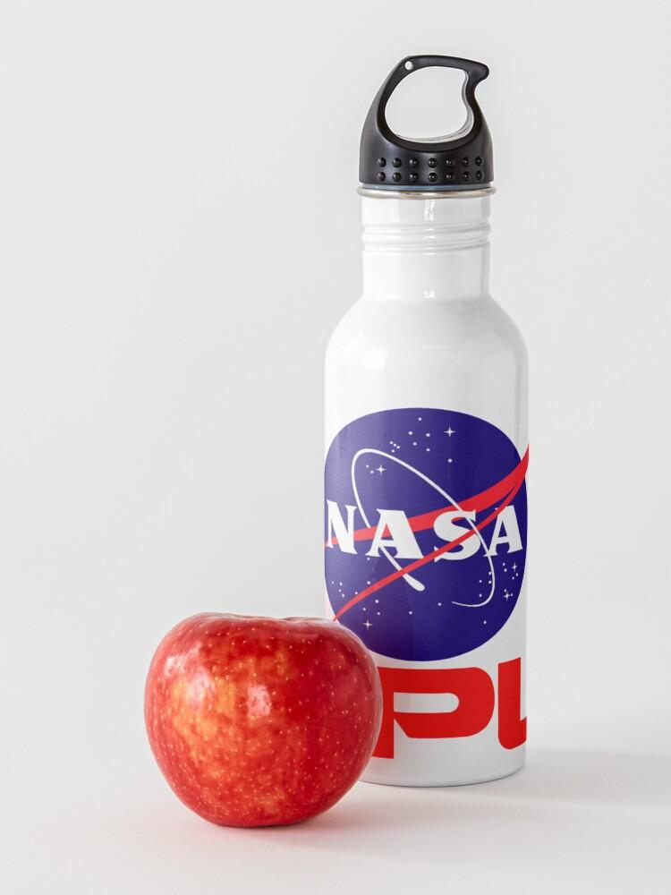 Alternate view of NASA & JPL Together Water Bottle
