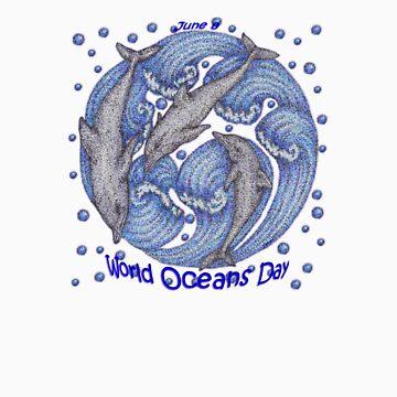 Ocean Day by artbyjehf