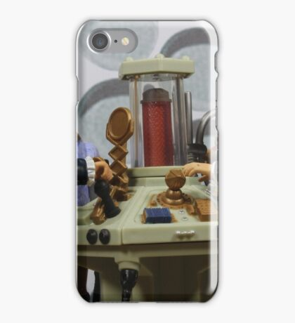 A Dandy and a Magician in a Time Crash iPhone Case/Skin
