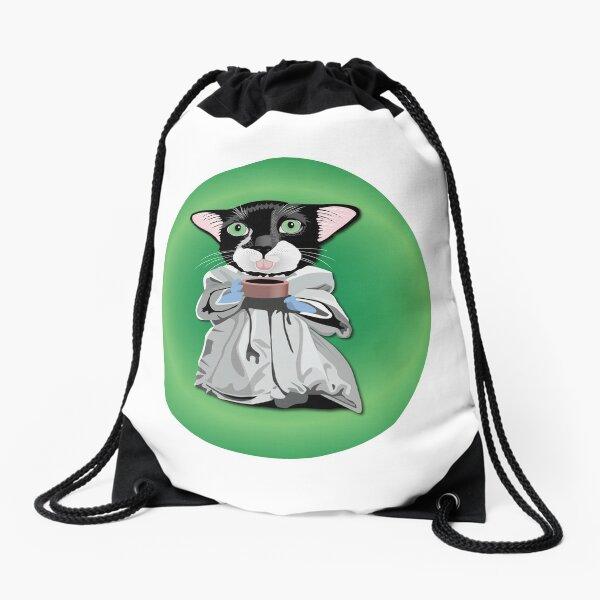 Baby Kitty Yoda Drawstring Bag