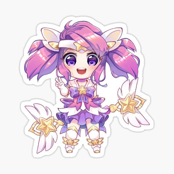Star Guardian Lux Chibi Sticker