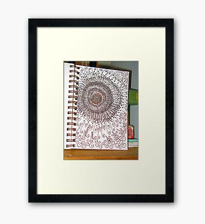 DrawingdayDoodle2011 Framed Print