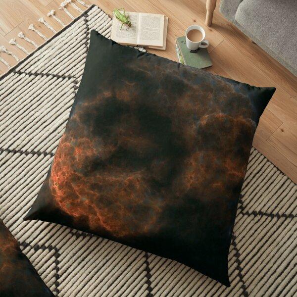 Starless jellyfish Floor Pillow