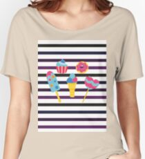 Sweet stripes Women's Relaxed Fit T-Shirt