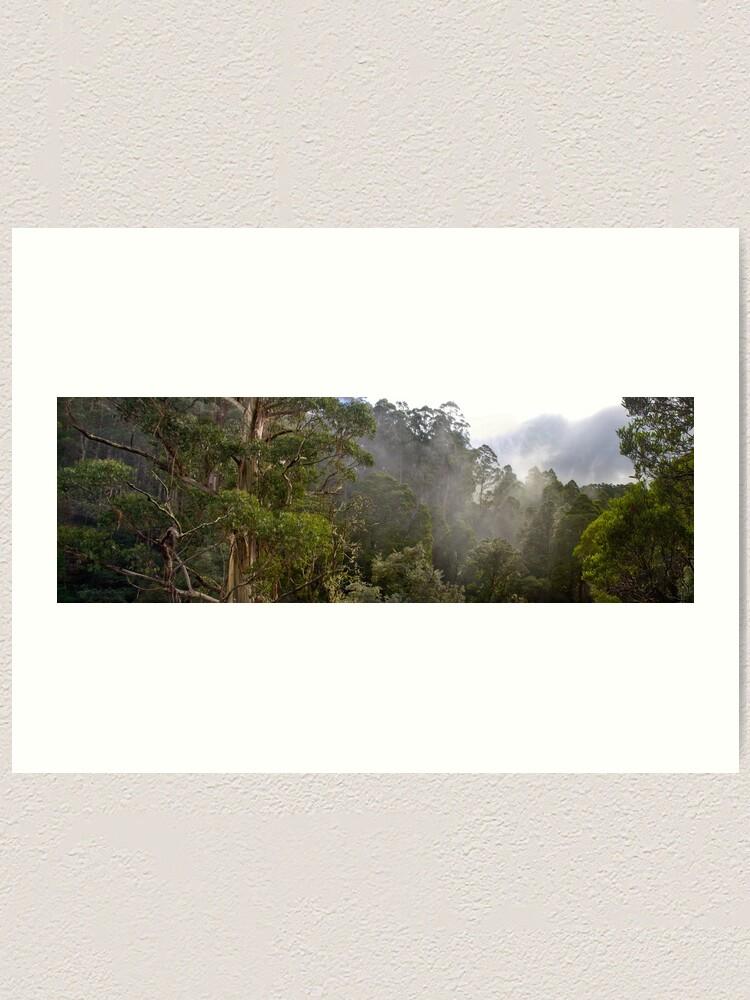 Alternate view of Tree Tops Art Print