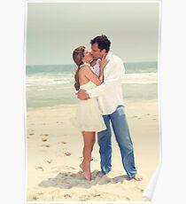 Casual Beach Wedding Poster