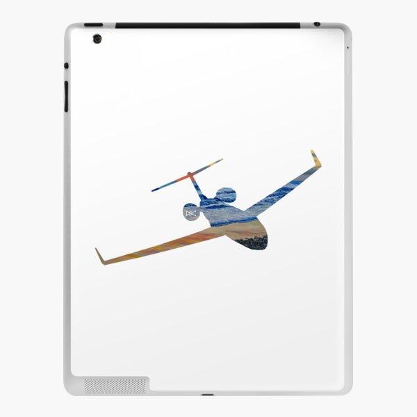 Gulfstream GV Sunset Beach Silhouette iPad Skin