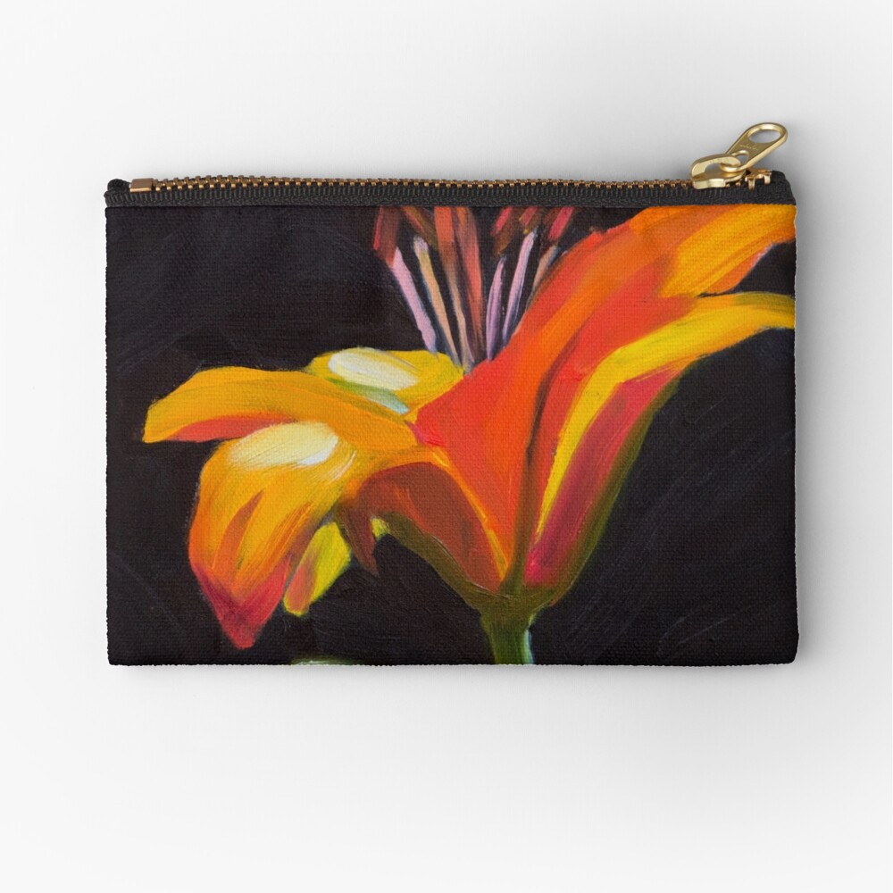 Frilly Lily Zipper Pouch