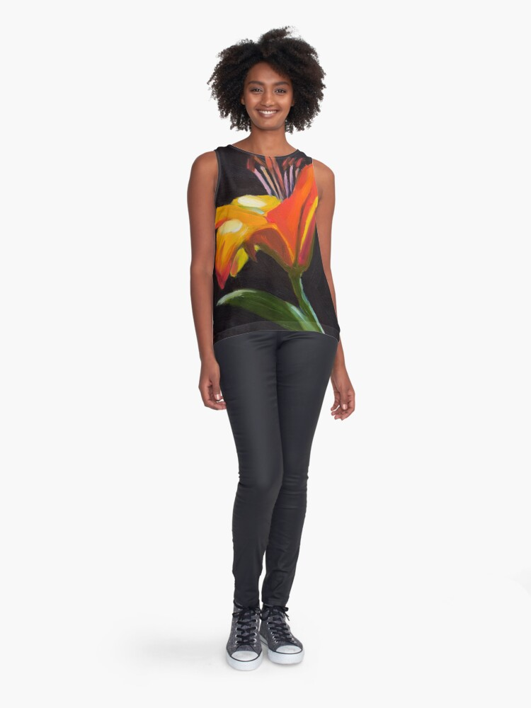 Alternate view of Frilly Lily Sleeveless Top