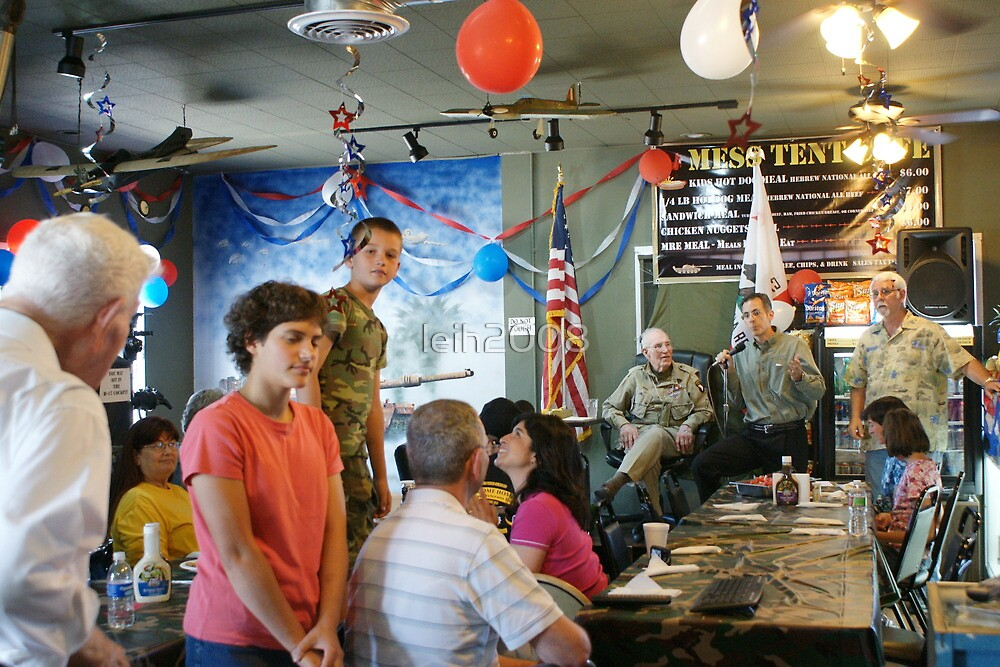 """Lunch with a """"Hero"""" & the children came! The Mess Tent Cafe' Oxman's Santa Fe Springs, CA USA by leih2008"""