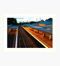 Armadale Station Art Print