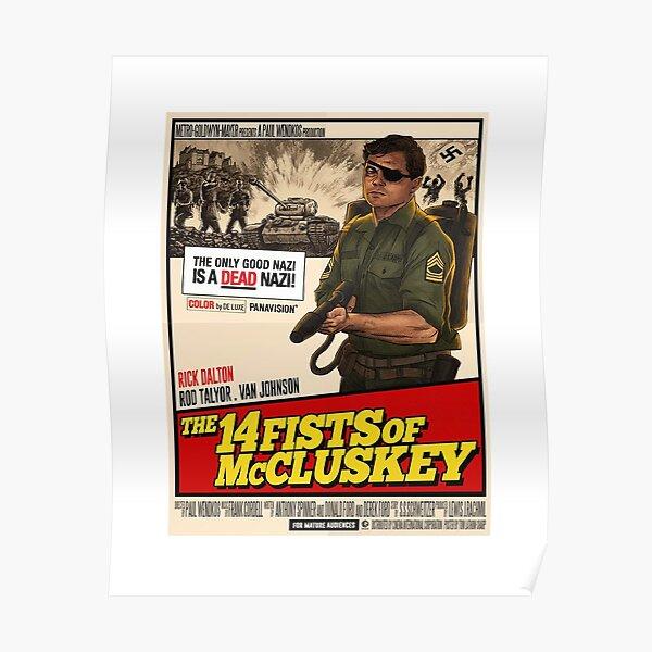 Il était une fois à Hollywood - 14 poings de Mcluskey Poster