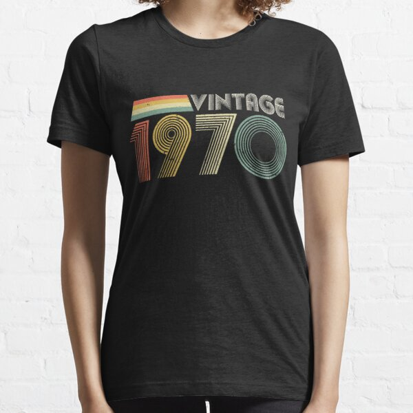 Vintage 1970, 50th Birthday Gift Essential T-Shirt