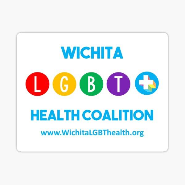Wichita LGBT+ Health Coalition Sticker