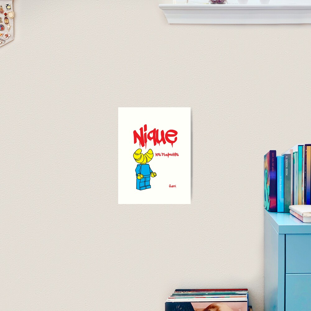 Growing Lego Art Print By Sanx01 Redbubble
