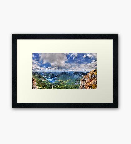 5 Fingers - Krippenstein (Austria) - 36 shot HDR Panorama Framed Print