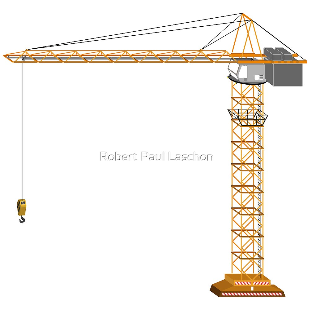 Crane by Laschon Robert Paul