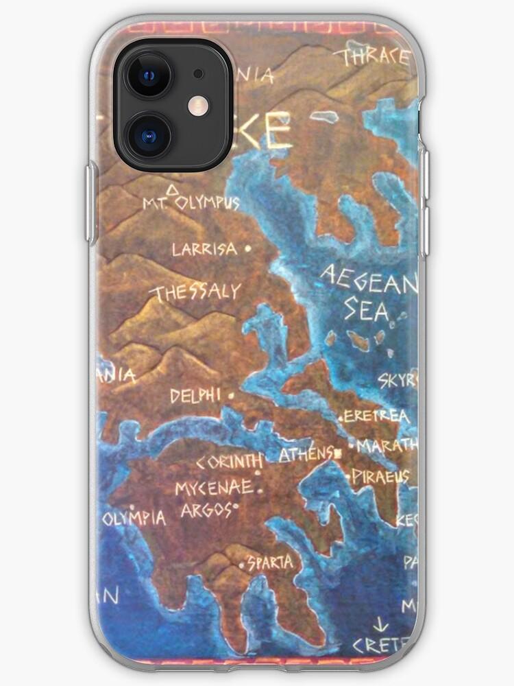 coque iphone 8 grece paysage