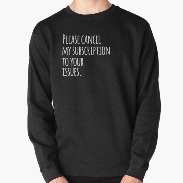 Drama Free Apparel & Artwork Pullover Sweatshirt