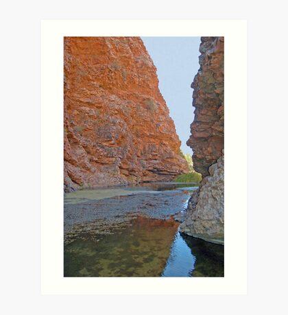 Simpson's Gap, Northern Territory, Australia Art Print