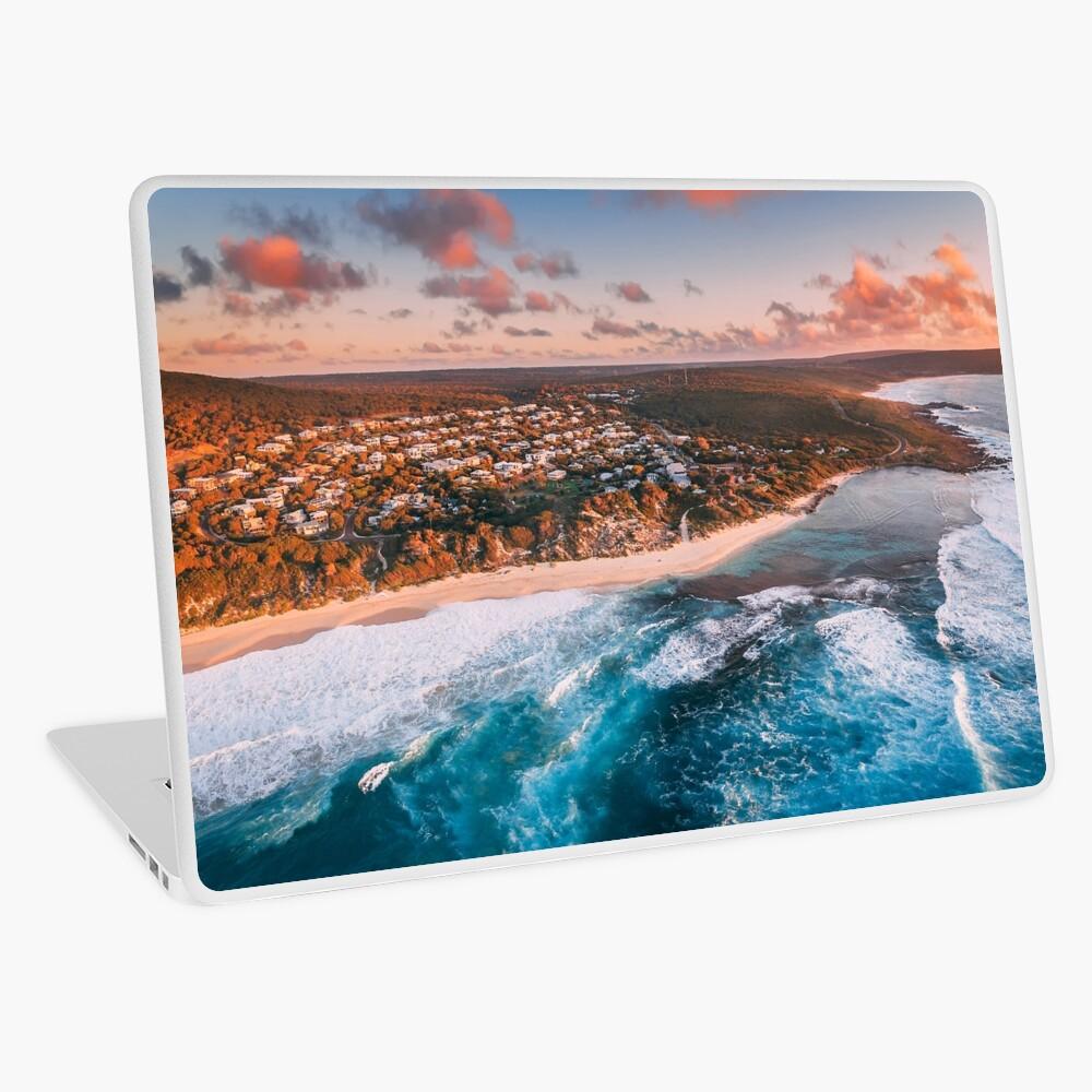 Yallingup Sunset Aerial Laptop Skin