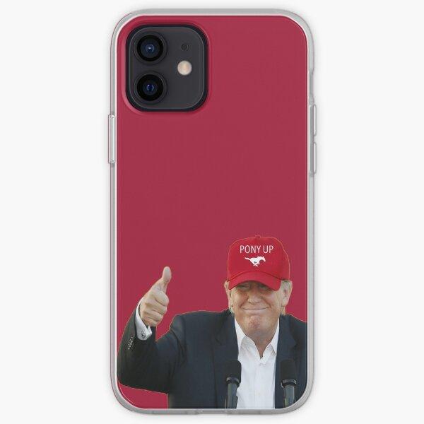 Trump SMU Hat iPhone Soft Case