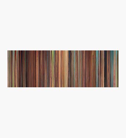 Moviebarcode: Spirited Away (2001) Photographic Print