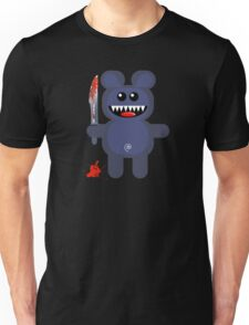 BEAR 2 (Cute pet with a sharp knife!) Unisex T-Shirt