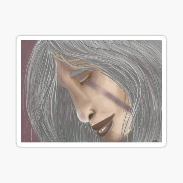 Fantasy Theme Woman Sticker
