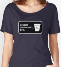 Clutch cream run, bro. Relaxed Fit T-Shirt