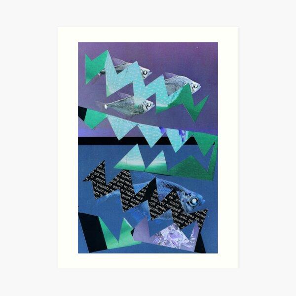 fish again, again Art Print