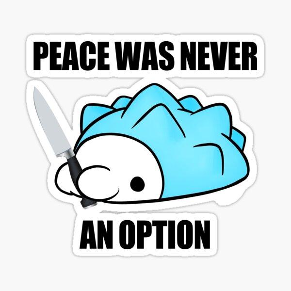 Snom - La paix n'a jamais été une option Sticker