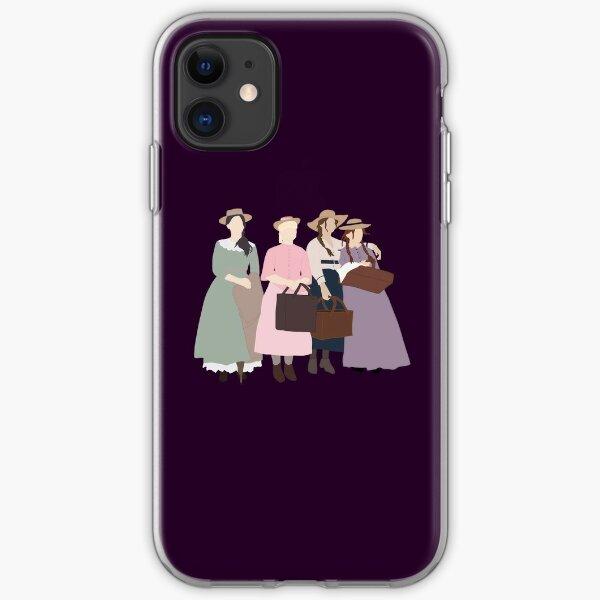 Little March Girls iPhone Soft Case