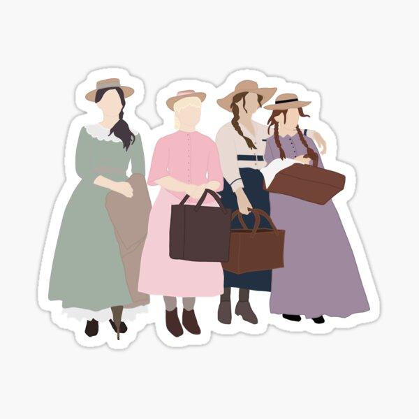 Little March Girls Pegatina