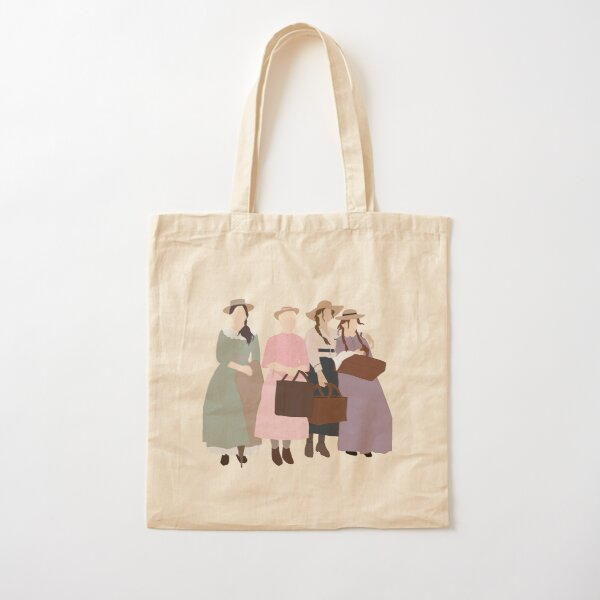 Little March Girls Cotton Tote Bag