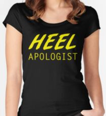 Heel Apologist Women's Fitted Scoop T-Shirt