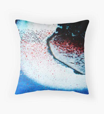 Dissolution Throw Pillow