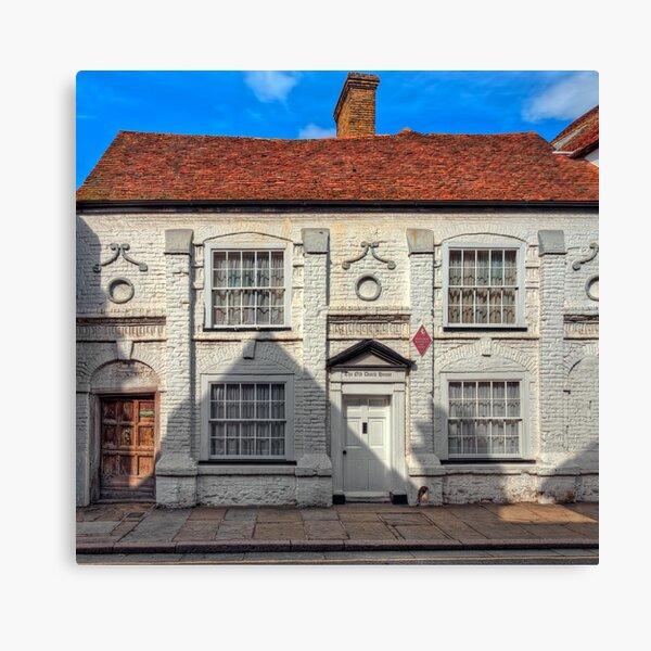 Old Dutch House Canvas Print