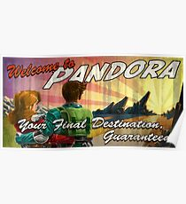 Welcome to Pandora Poster