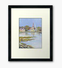 Mahone Bay, Nova Scotia Framed Print