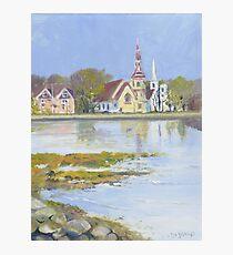 Mahone Bay, Nova Scotia Photographic Print