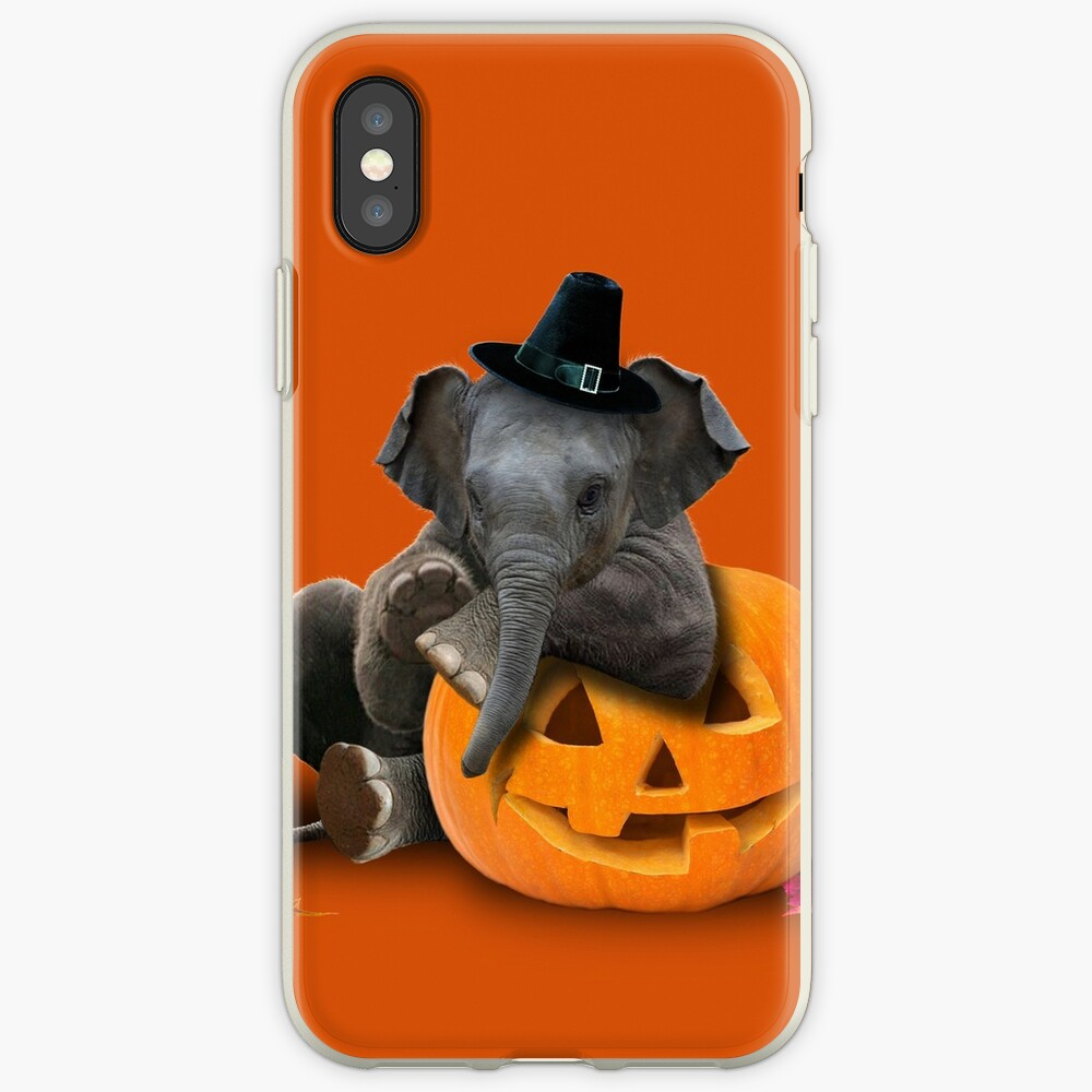 Erntedank-Pilger-Elefant iPhone-Hülle & Cover