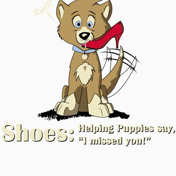 Shoes: Helping Puppies by DJTheatre