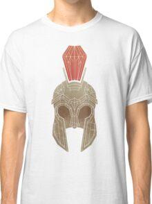 Geometric Trojan Helmet Classic T-Shirt