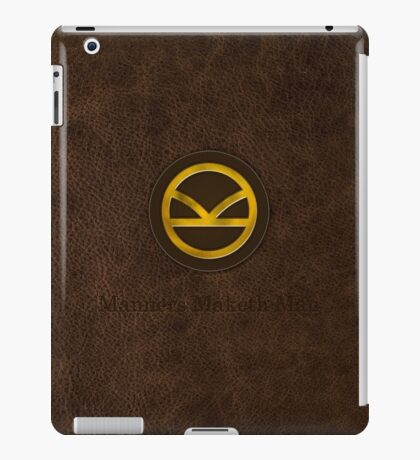 Kingsman Leather & Metal iPad Case/Skin
