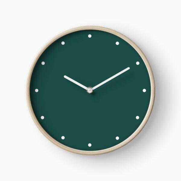 Forest Green Clock