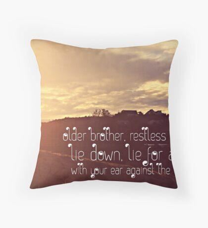 take the time.  Throw Pillow