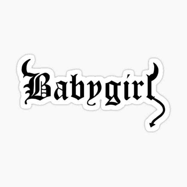 diablita bebe Pegatina